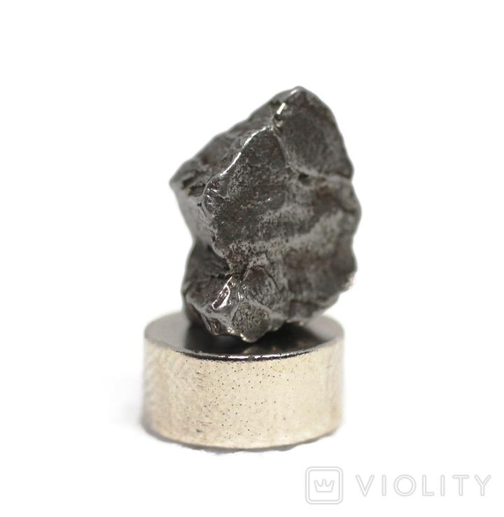 Залізний метеорит Campo del Cielo, 2,1 грам, із сертифікатом автентичності, фото №6