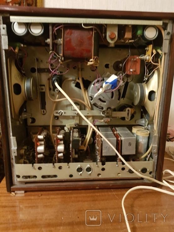 Магнитофон бабинный Каштан, фото №4