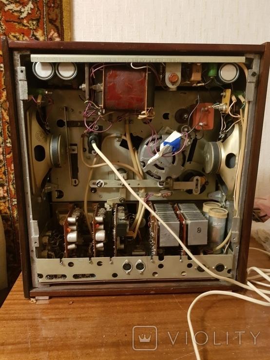 Магнитофон бабинный Каштан, фото №5