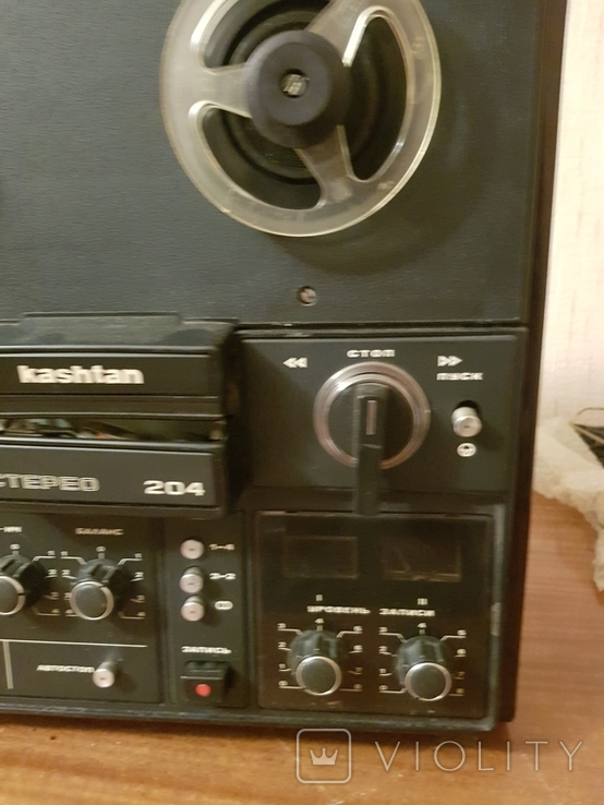 Магнитофон бабинный Каштан, фото №7