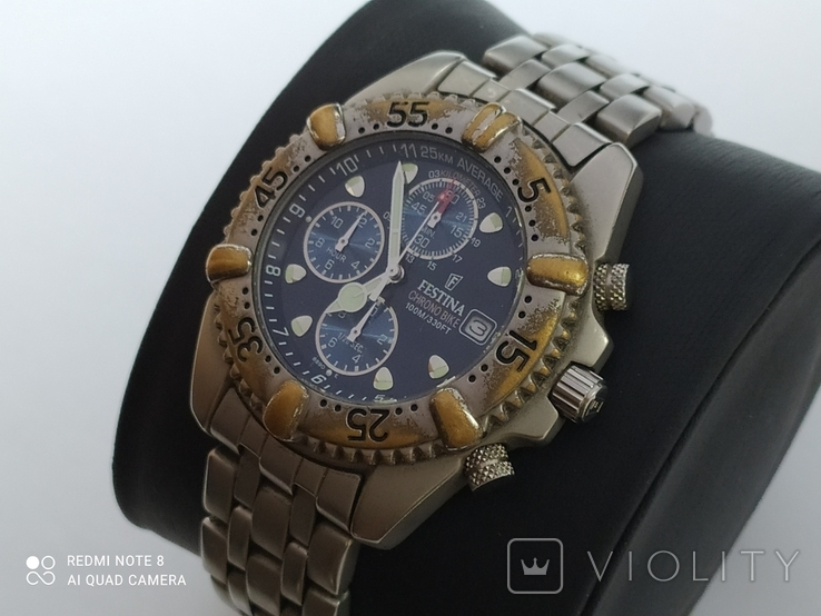 Часы Festina Chrono Bike 100m, фото №2