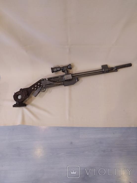 Ружье с оптикой. Ручная работа., фото №4