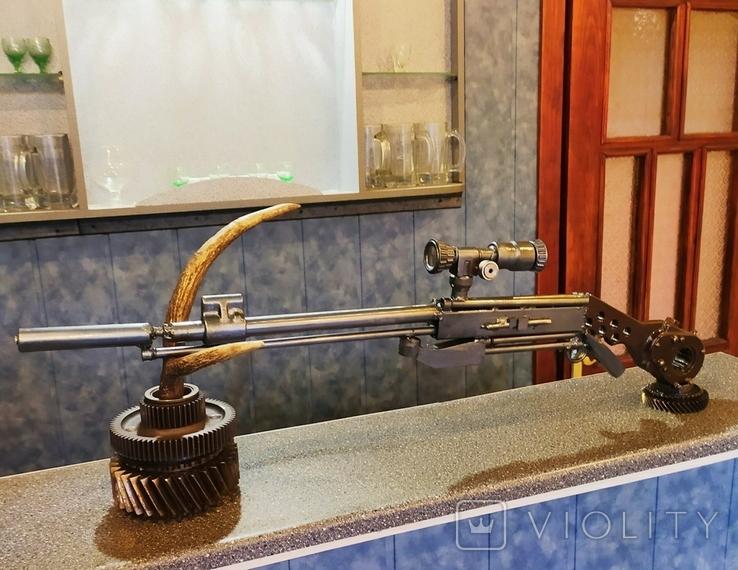 Ружье с оптикой. Ручная работа., фото №9