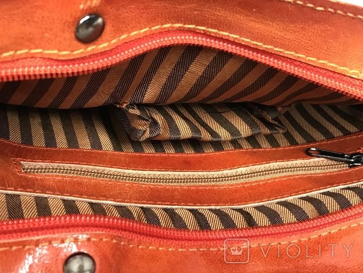 Кожаная сумка с изображением Кота, фото №9