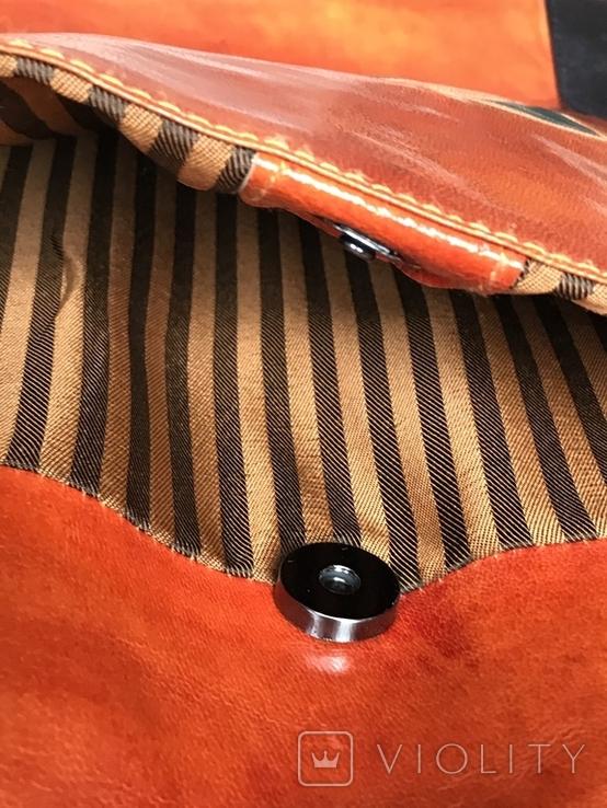 Кожаная сумка с изображением Кота, фото №10