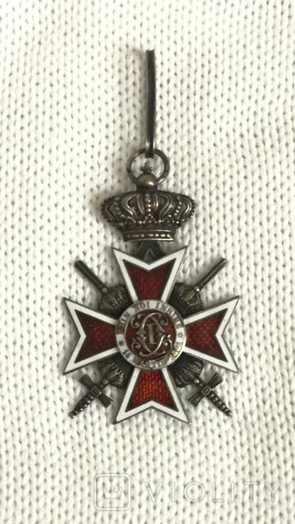 Знак ордена Короны 5 рыцарской степени с мечами, фото №2