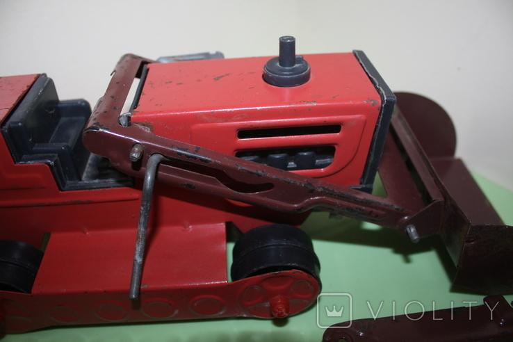 Экскаватор СССР машина, игрушка, трактор, фото №7