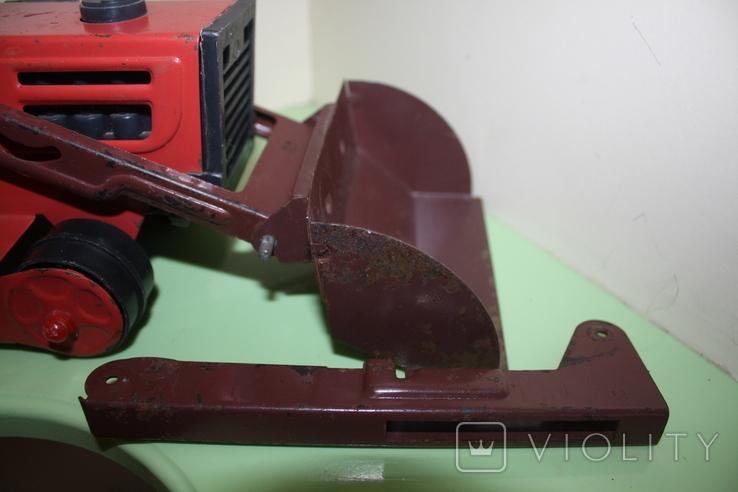 Экскаватор СССР машина, игрушка, трактор, фото №8