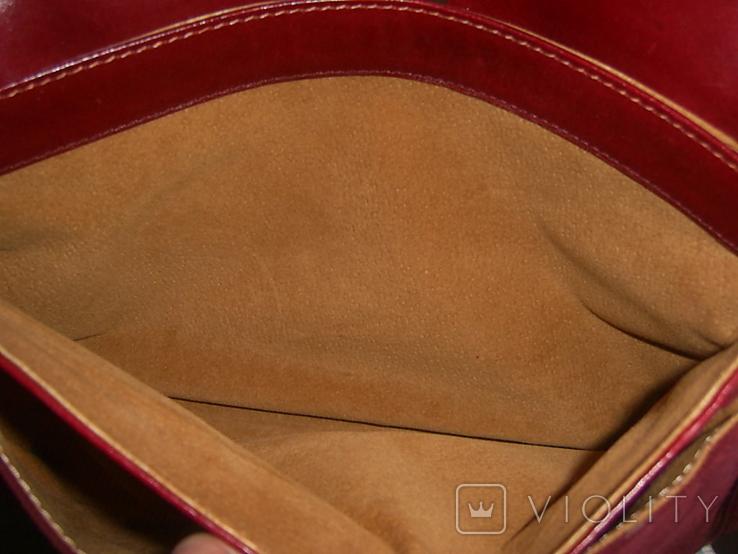 Сумка замшевая на плечо Bravo, фото №8