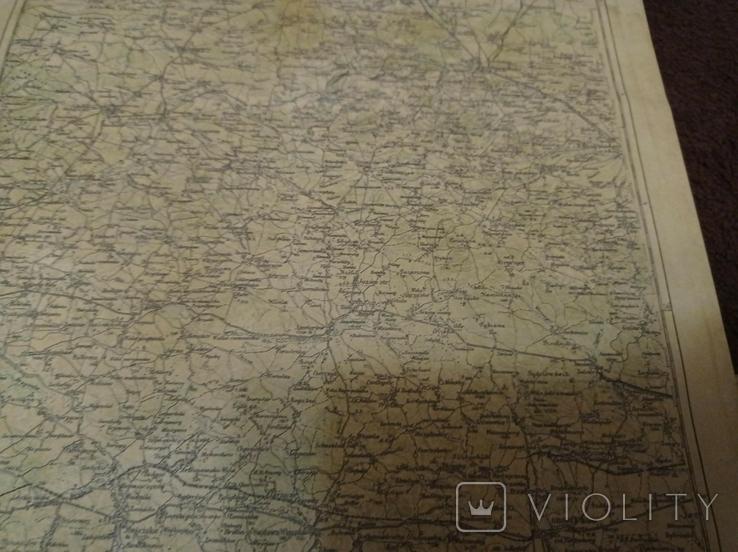 Качественная копия карта  Самбор, фото №5