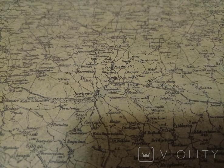 Качественная копия карта  Самбор, фото №8