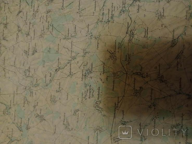 Копия немецкой  карты  Умань, фото №6