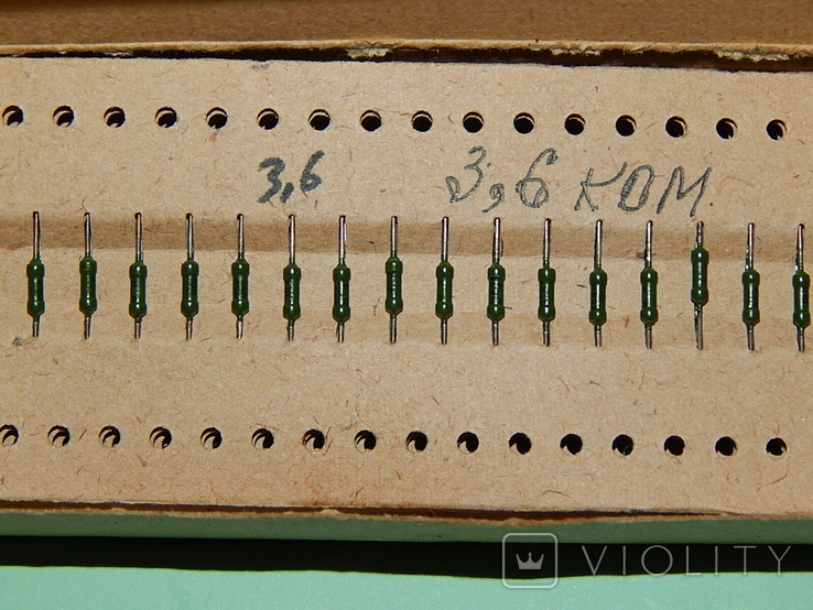 Резисторы ОСМТ-0.125/3,6/3,9ком, фото №4