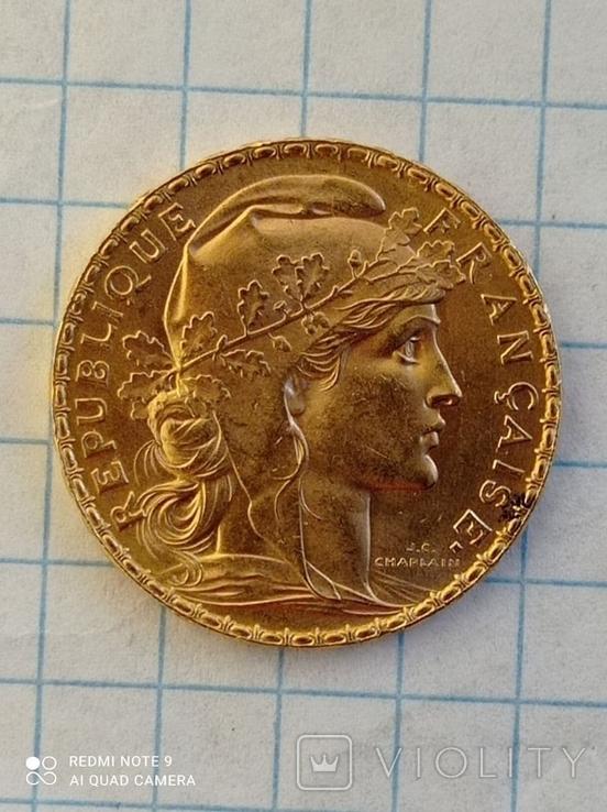 20 франков 1912 Франция к6л8, фото №9