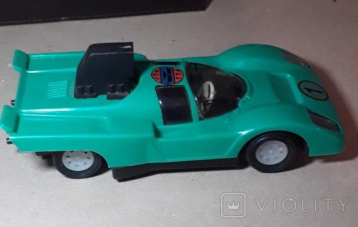 Инерционная гоночная машинка из СССР длина 20 см., фото №4