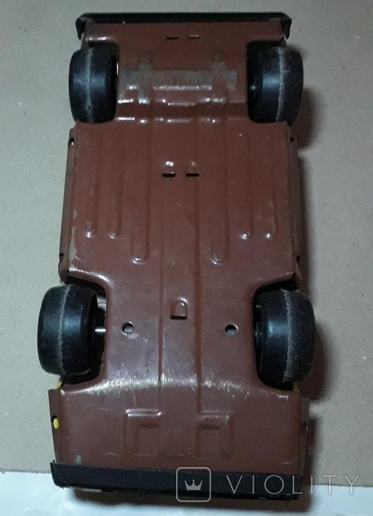 Винтажная машина гоночная СПРИНТ Авторалли,жесть, из СССР, фото №5