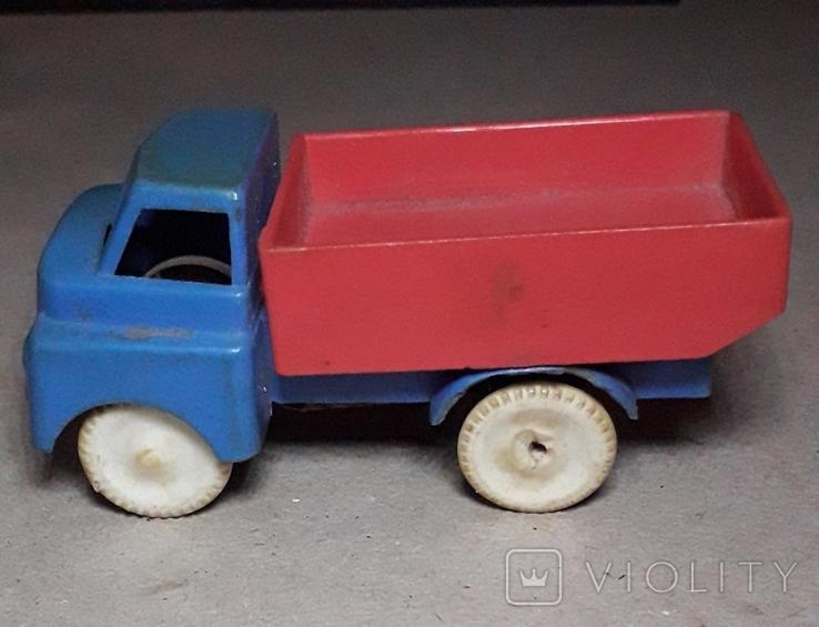 Винтаж грузовая машинка СССР 60-70-е годы, фото №2