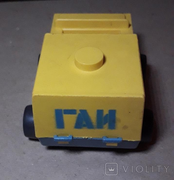 Машинка ГАИ времён СССР длина 11 см., фото №3