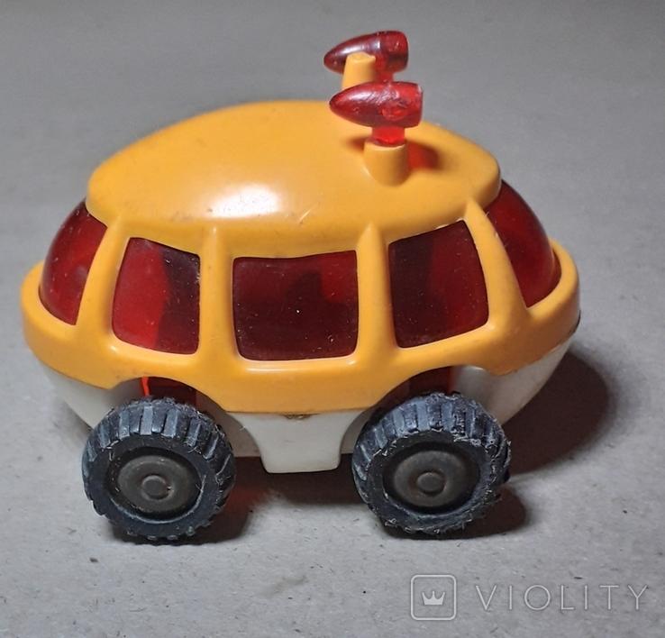 Машинка Луноход ( длина 7 см. ) СССР, фото №2