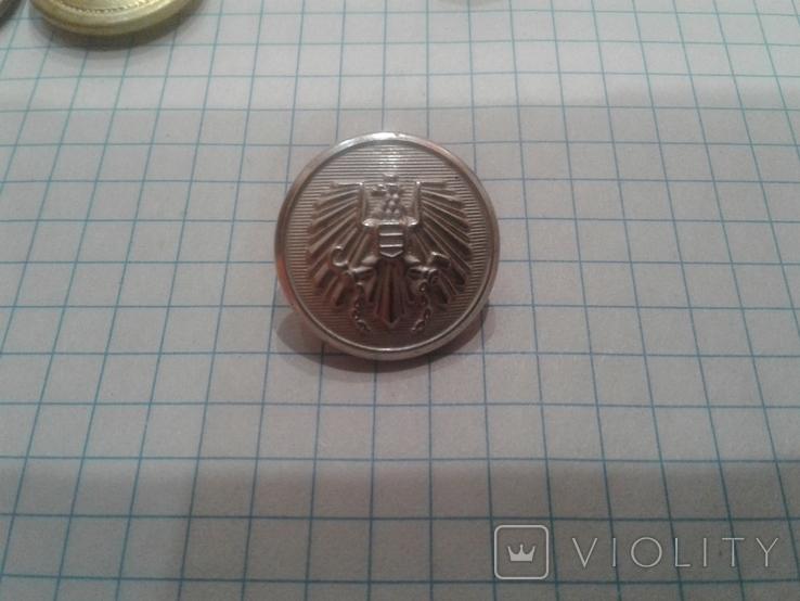 Пуговици армий--Швейцарии и Австрии (оригиналы), фото №8