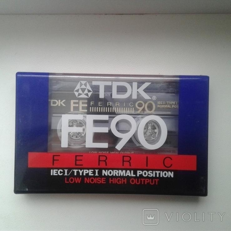 Кассета TDK FE 90, фото №3