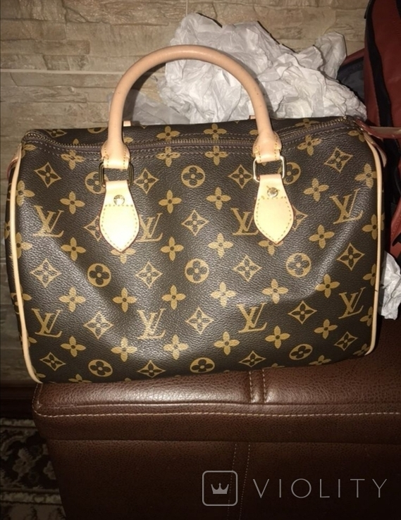 Louis Vuitton Speedy 25, фото №2