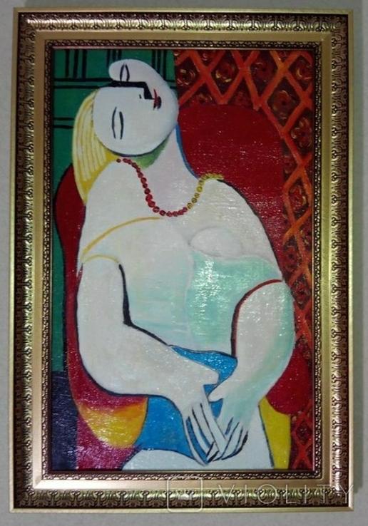 Картина Пабло Пикассо. Сон. Копия., фото №2