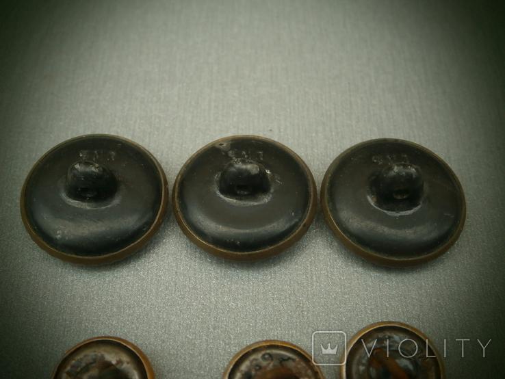 Пуговицы ВМФ СССР 1960-е годы - 14 шт., фото №12