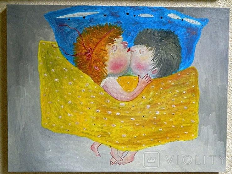 Картина копия Е.Гапчинской  Холст Масло Ручная Работа 30*40см