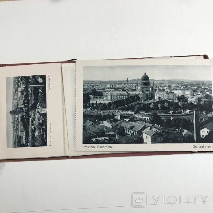 Набор открыток панорамы городов Германии , скреплённый, фото №4