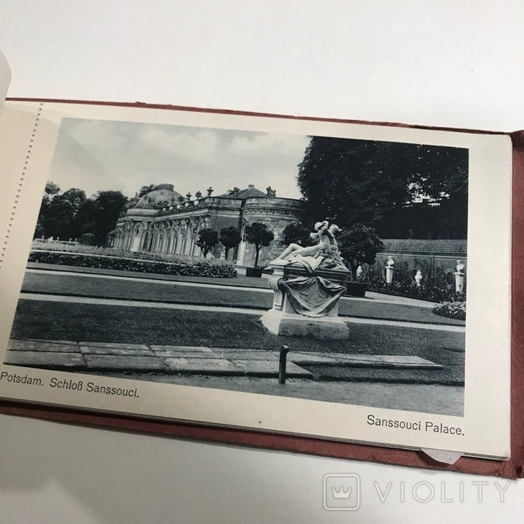 Набор открыток панорамы городов Германии , скреплённый, фото №10