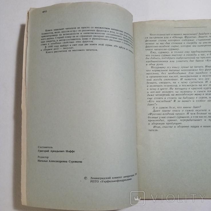 1990 Фруктово-ягодный круиз, Иоффе Г.А., фото №7