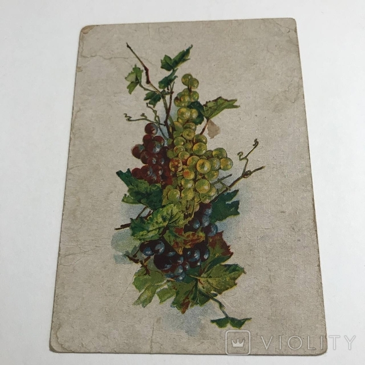 Открытка виноград хро-гиз, фото №2
