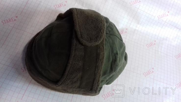 военная зимняя кепи-шапка. зарубежка.лот № 4, фото №3