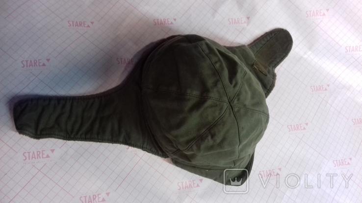 военная зимняя кепи-шапка. зарубежка.лот № 4, фото №4