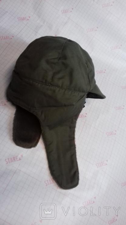 военная зимняя кепи-шапка. зарубежка.лот № 98, фото №3