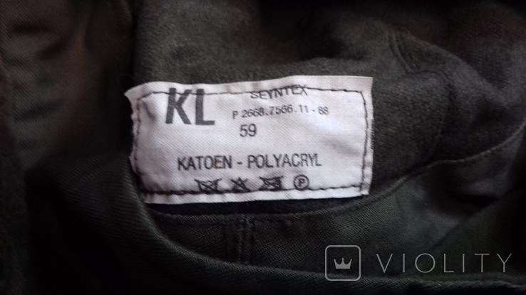военная зимняя кепи-шапка. зарубежка.лот № 98, фото №5