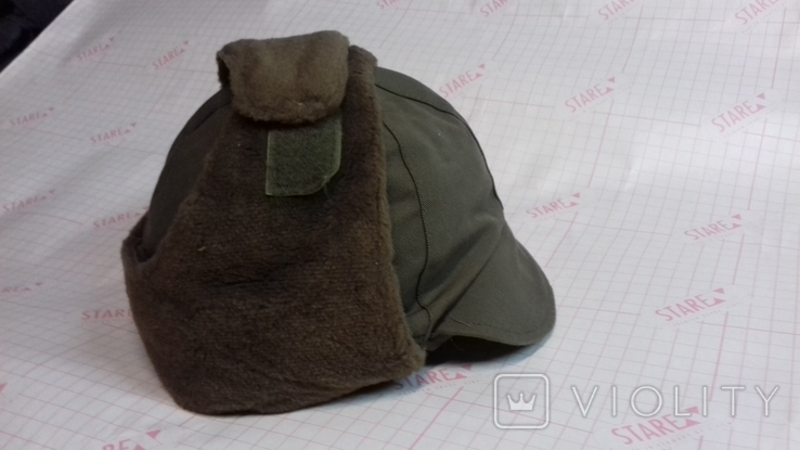 военная зимняя кепи-шапка. зарубежка.лот № 55, фото №2