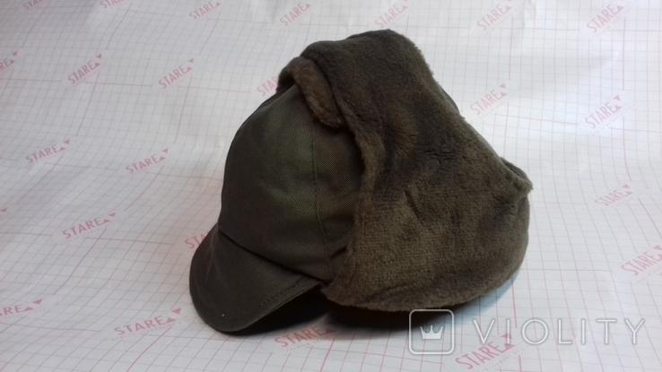 военная зимняя кепи-шапка. зарубежка.лот № 55, фото №3