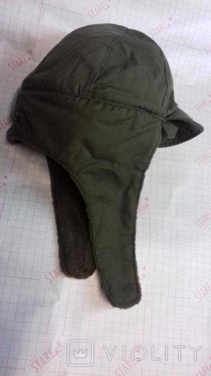 военная зимняя кепи-шапка. зарубежка.лот № 55, фото №4