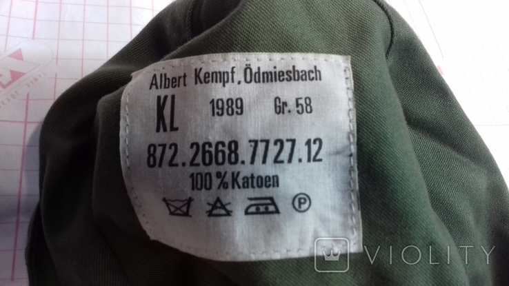 Военная кепи  зарубежка.лот № 2, фото №4