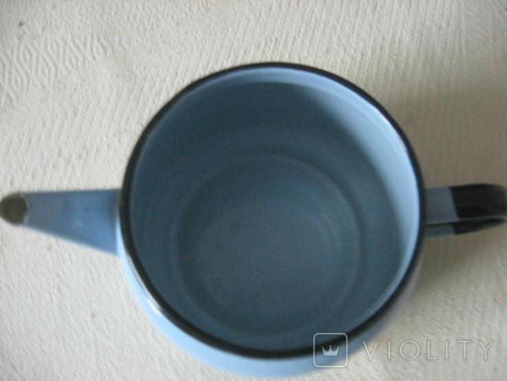 Чайник заварник эмалированный (600 мл), фото №3