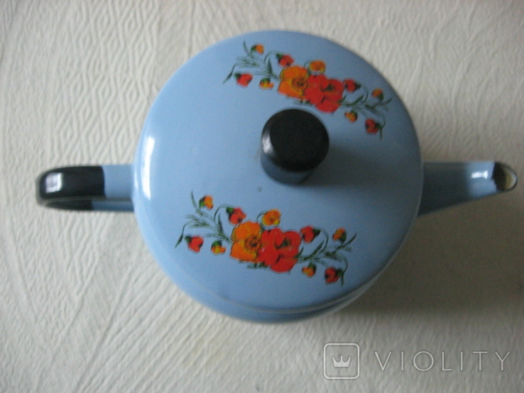 Чайник заварник эмалированный (600 мл), фото №5