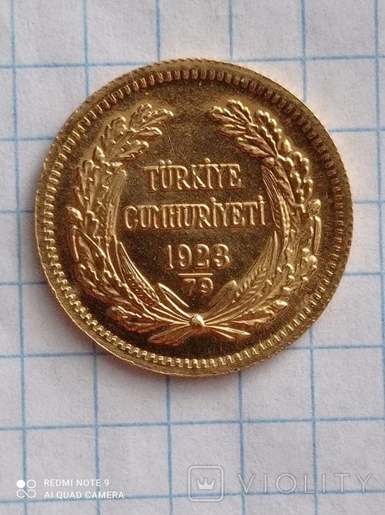 100 куруш Турция к3л4, фото №10