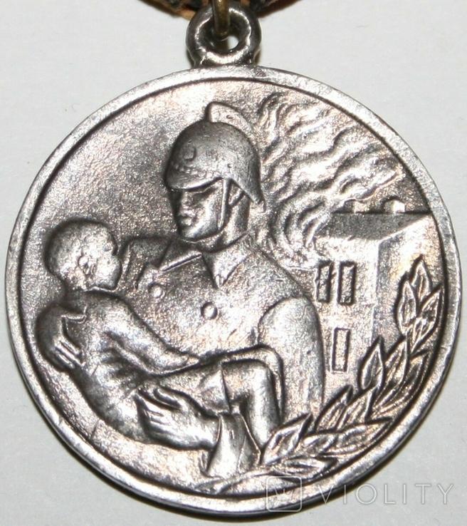 """Медаль """"За отвагу на пожаре"""" (копия), фото №5"""