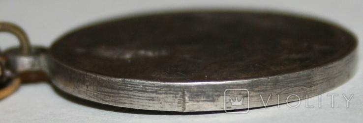 """Медаль """"За отвагу на пожаре"""" (копия), фото №8"""