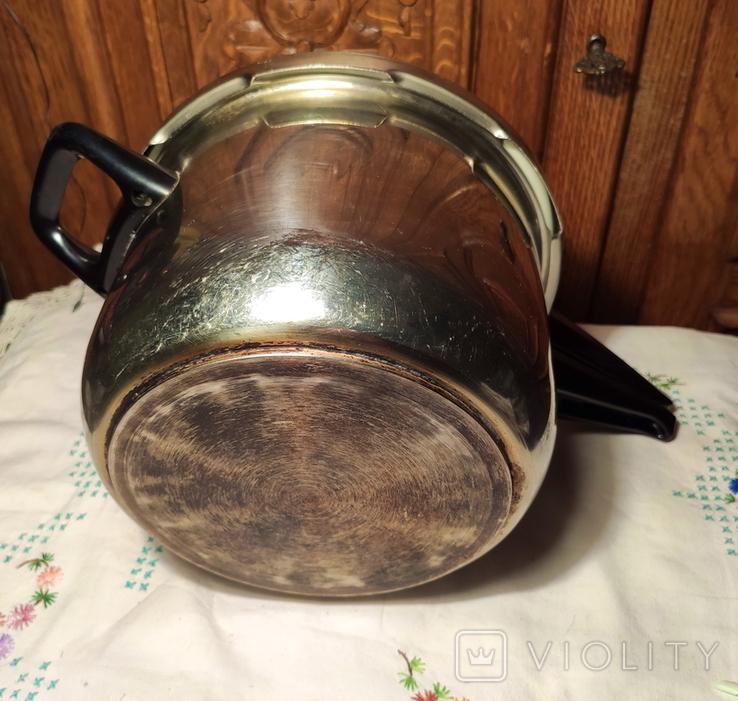 3 - 3,5 л -- кастрюля Скороварка  нерж, сталь - wmf  - германия, фото №4