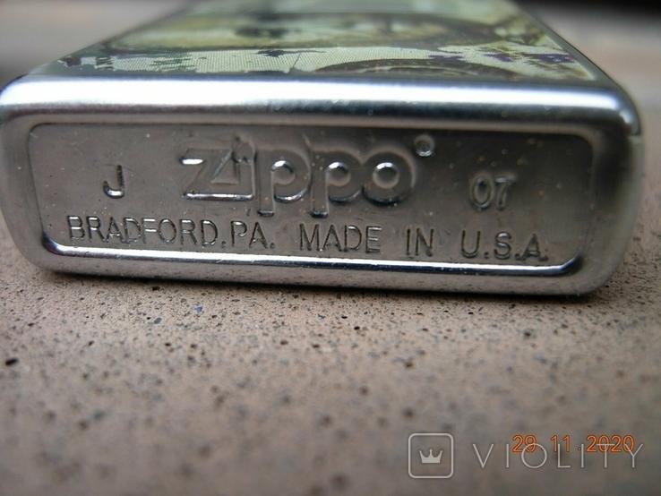 Зажигалка бензиновая ZIPPO.оригинал. USA., фото №3