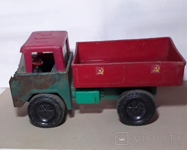 Машинка Грузовая СССР длина 26,5 см, фото №3