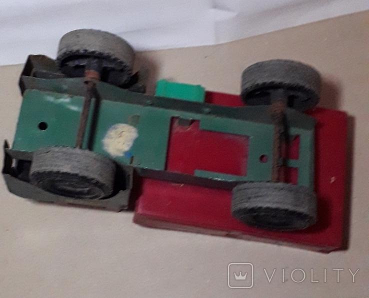 Машинка Грузовая СССР длина 26,5 см, фото №4